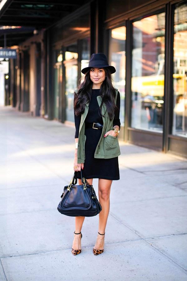 Милитари стиль: 17 новых стильных нарядов с цветом хаки