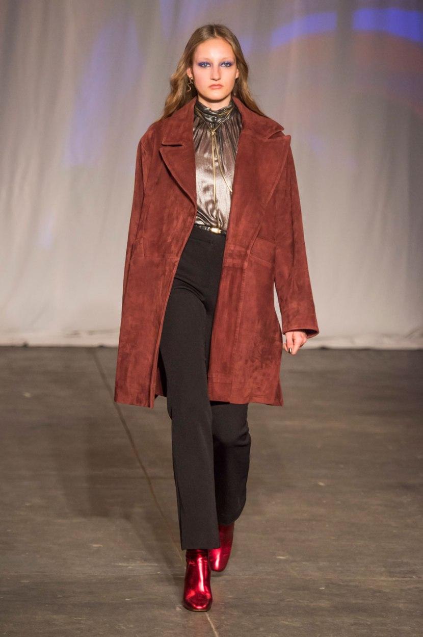 Короткое пальто 2017: с чем носить?