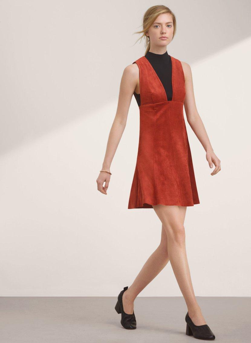 Короткое модное платье 2017 - фото новинки сезона