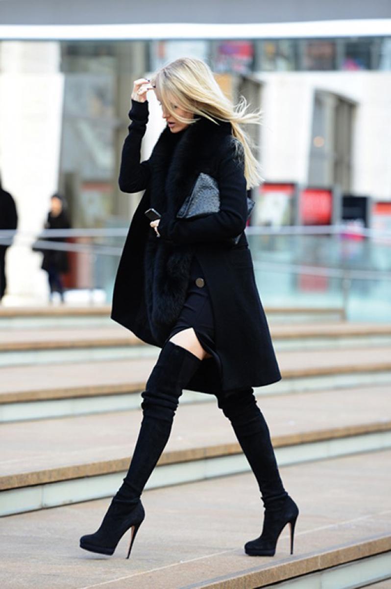 Fashion thigh high boots