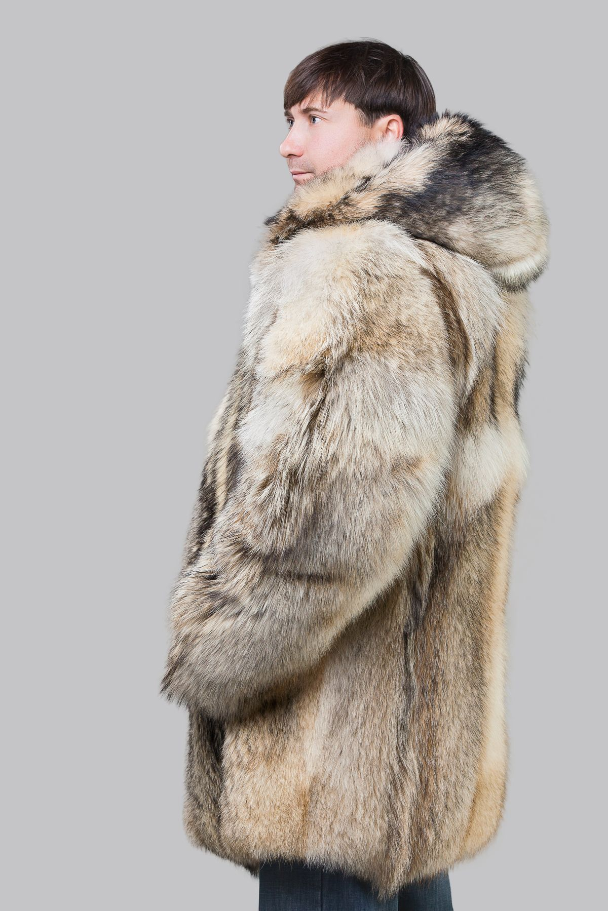 Мех россомахи – самый теплая шуба