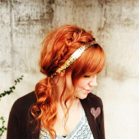 Прическа с цветами и косой — фото мастер класс