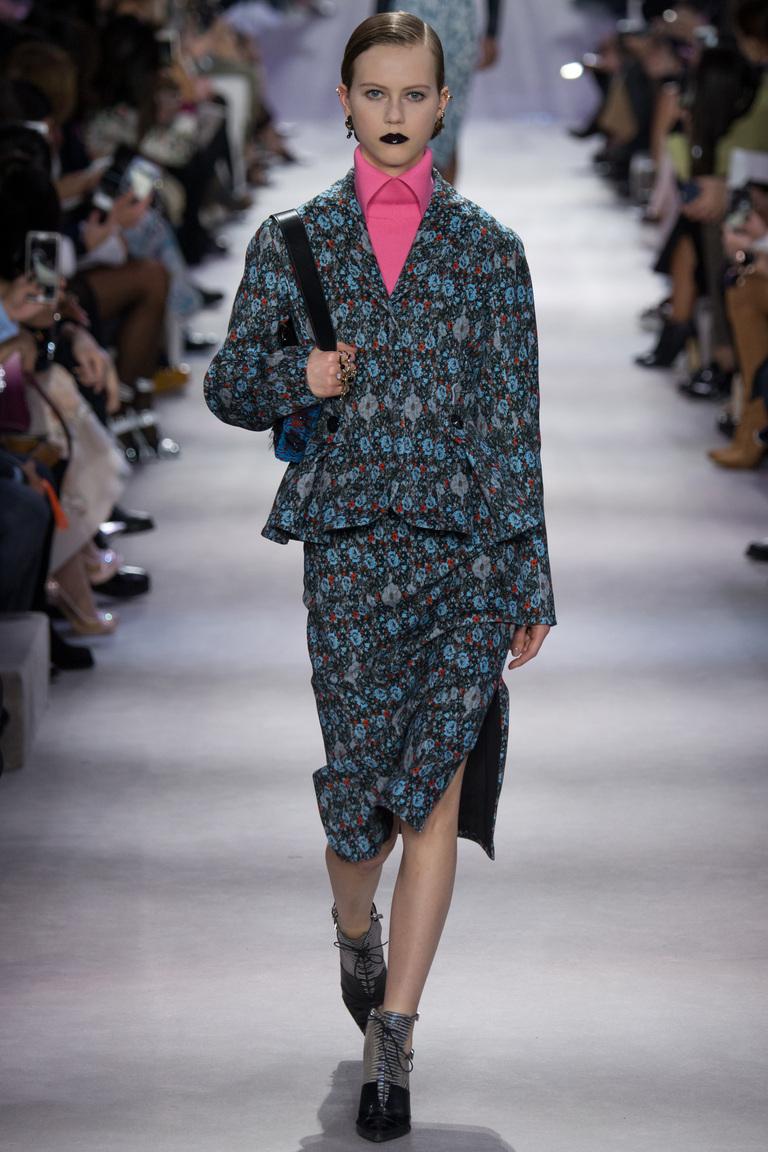 Модный с принтом кардиган 2017 фото обзор коллекции Christian-Dior.