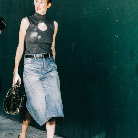 С чем модно носить юбки?