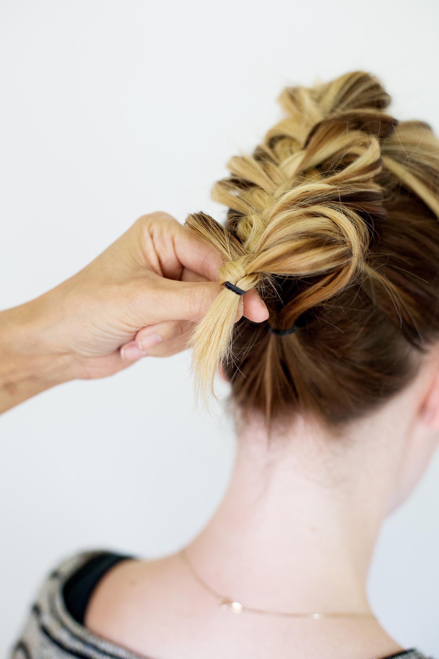 Необычные прически с косами фото