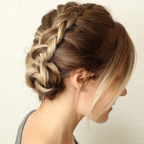 Датские косы – фото мастер-класс прически