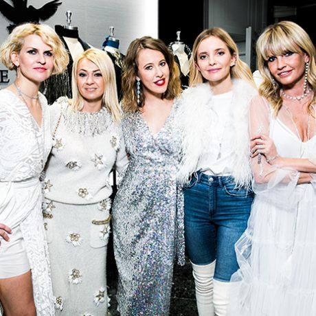 На вечеринке «Снежный коктейль» побывали российские знаменитости