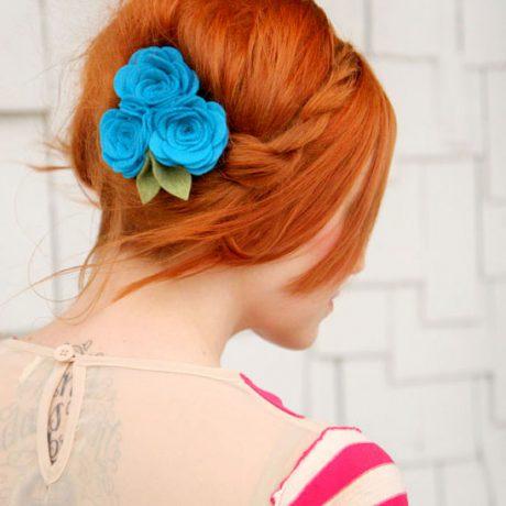 Нежная прическа с косой — фото мастер-класс