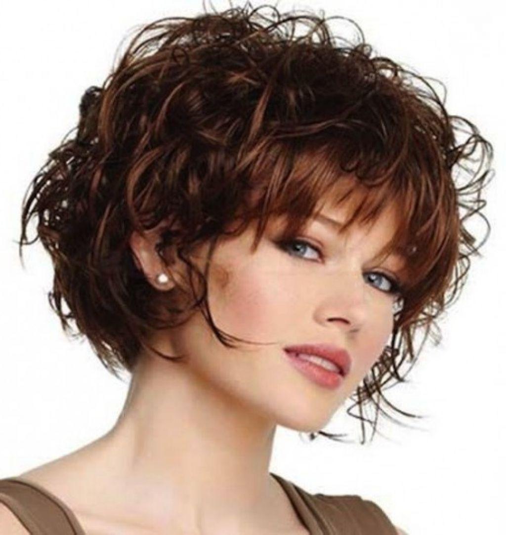 Стрижки вьющиеся волосы