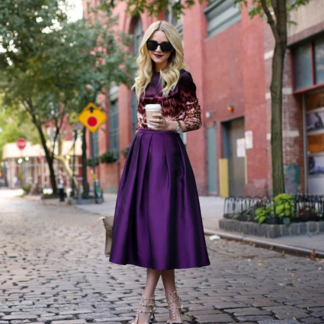 Пышные юбки 2018: 45 идеальных образов