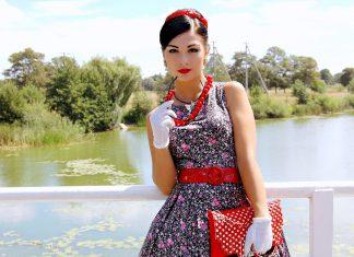 Платье в стиле стиляг: жизнь, драйв, свобода
