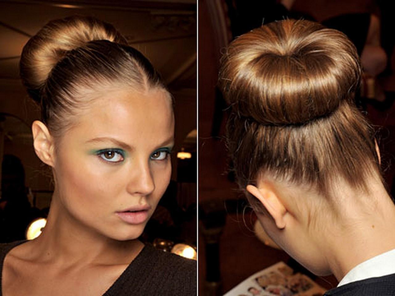 причёска в стиле «бабетта».