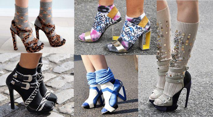 Носки с босоножками - тренд сезона