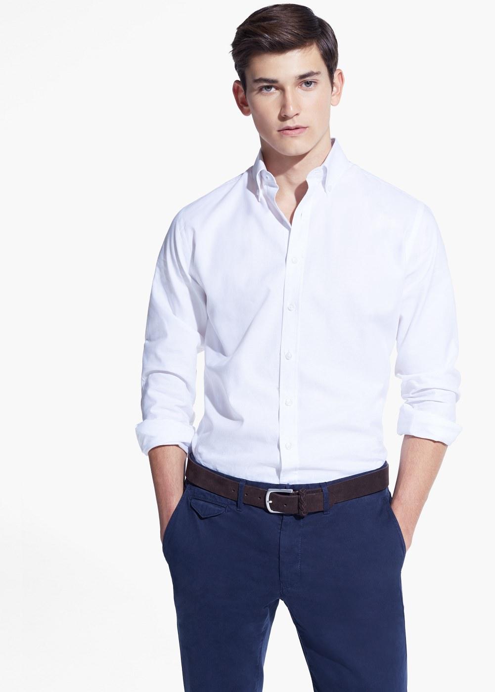 2a72e81146f5d77 Приталенная мужская рубашка – фото новинки сезона Приталенная мужская  рубашка – фото новинки сезона