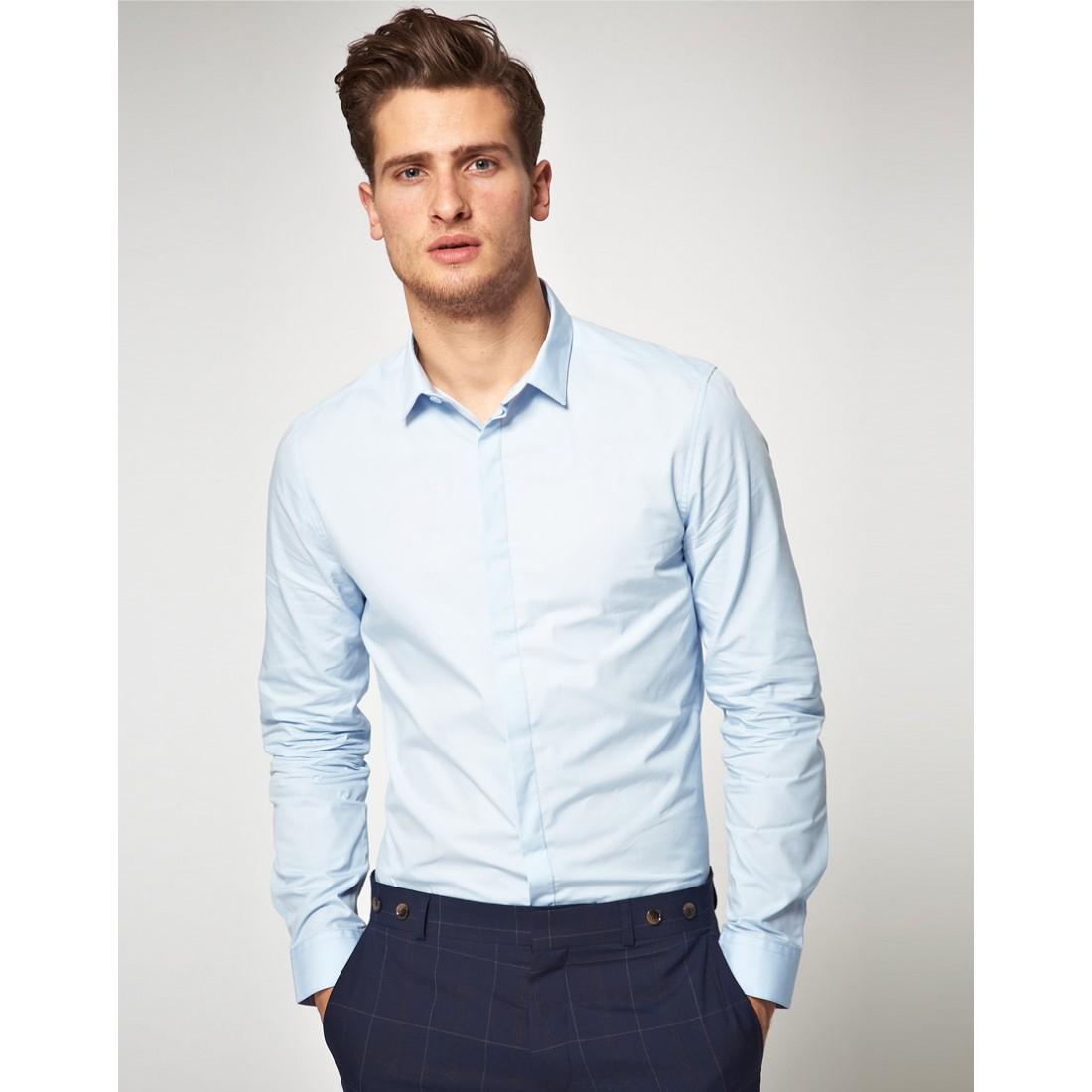 36364214c0db4f5 Мужские приталенные рубашки: с чем можно и нельзя сочетать? ♡