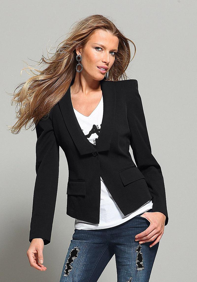открытку с чем можно носить пиджак женский фото большой