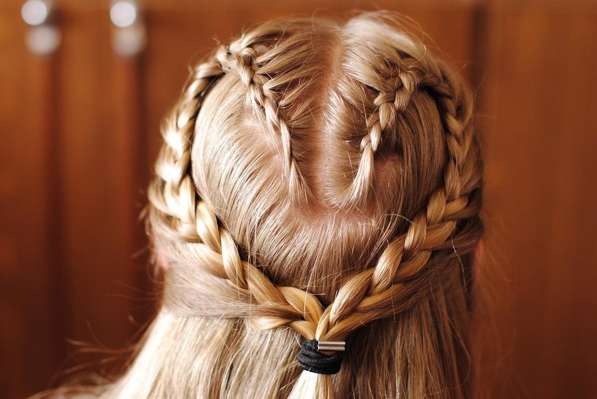 Косы волосы картинка