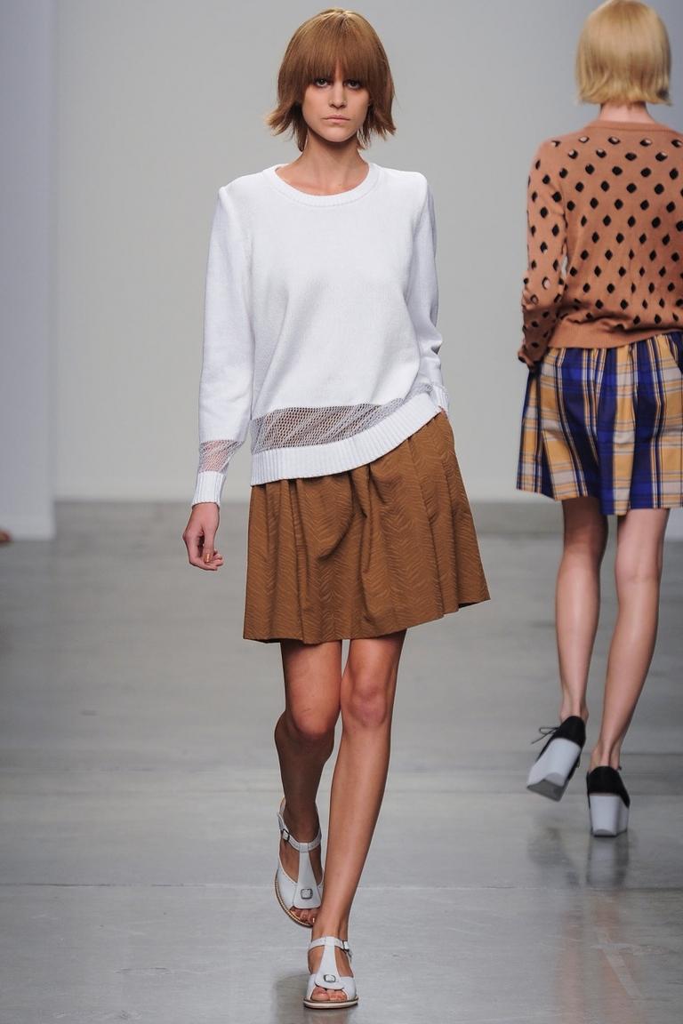 Короткие юбки фото с кофтами