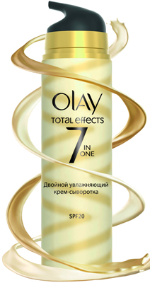 Крем + сыворотка OLAY Total Effects Moisturiser + Serum Duo