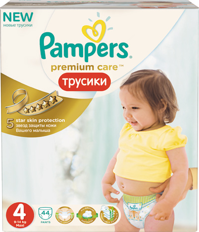 Трусики Pampers Premium Care