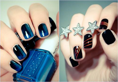 Морской дизайн нарощенных ногтей фото