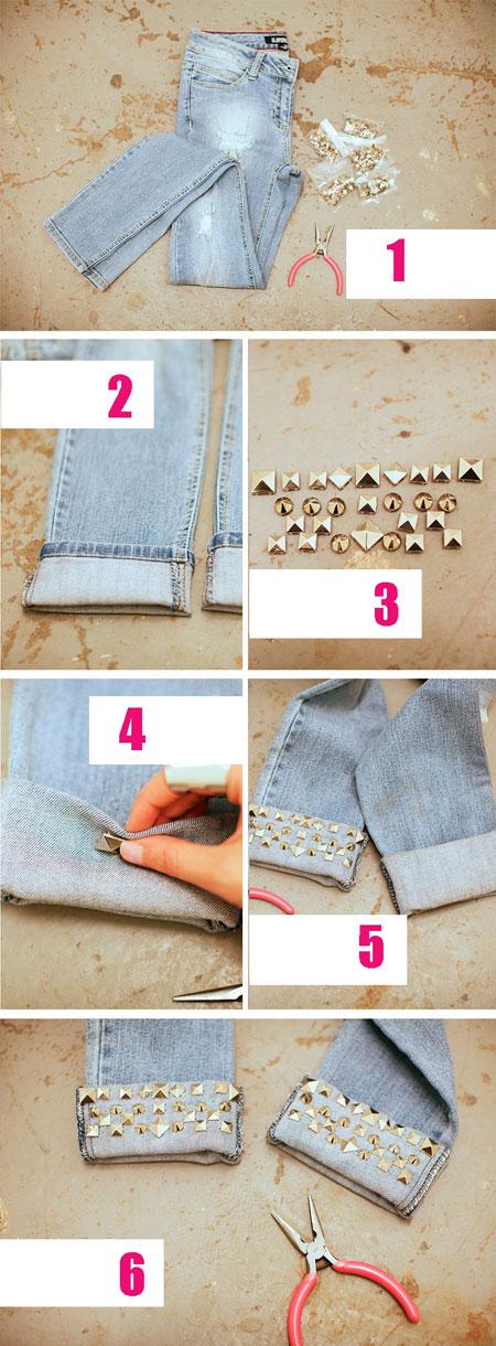 Как сделать шорты из старых джинс своими руками мужские