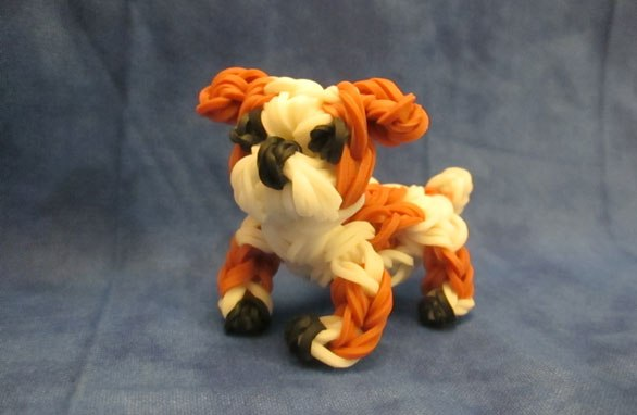 Плетения резинками собак