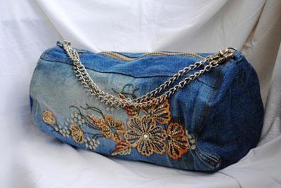 2e6e83992085 Сумка из джинсов своими руками ♡