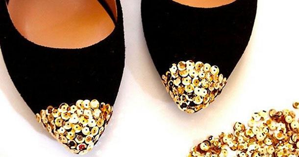 Украшения своими руками на обувь