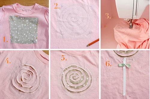 Как декорировать футболку своими руками фото