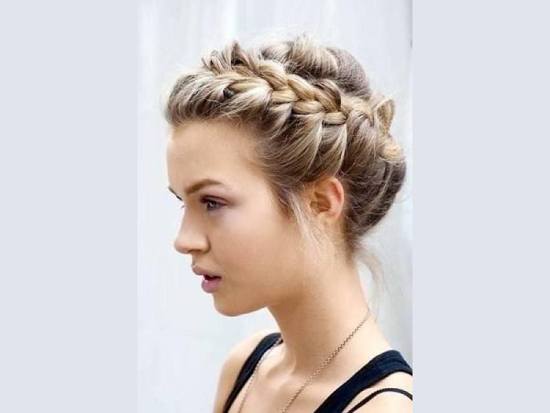 Модные косы для длинных, средних и коротких волос: лучшие 33