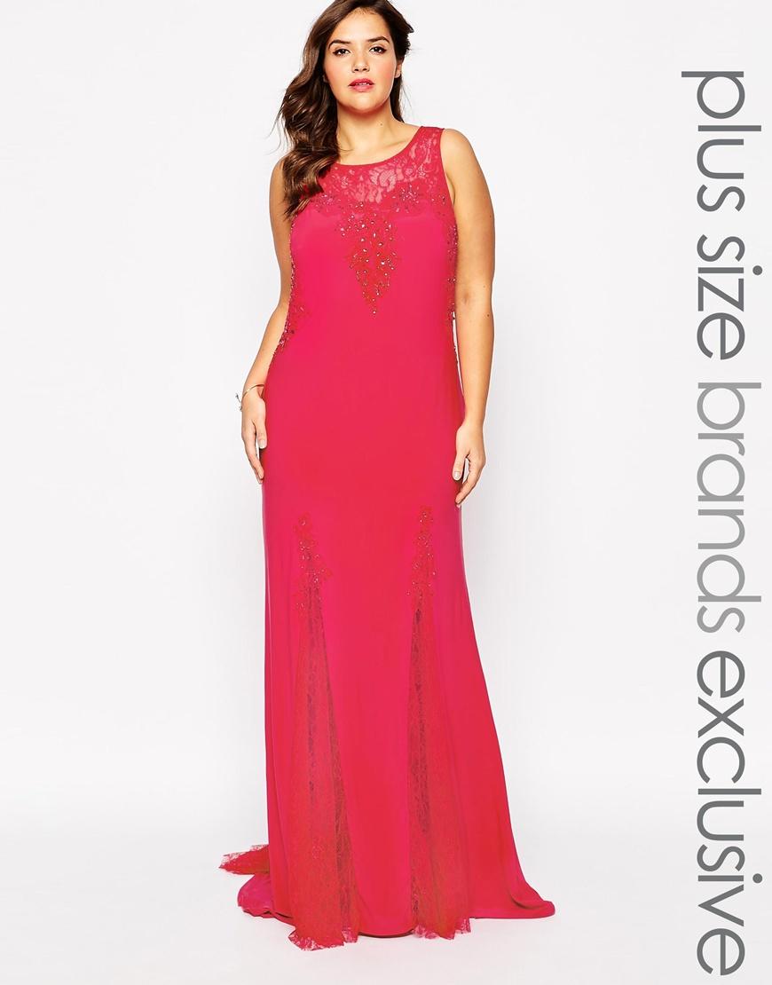 Красное вечернее платье 2016