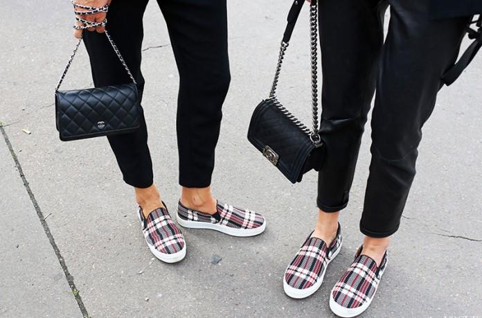 Обувь слипоны: 10 ошибок сочетания одежды