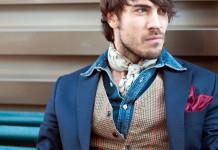 Джинсовые мужские рубашки