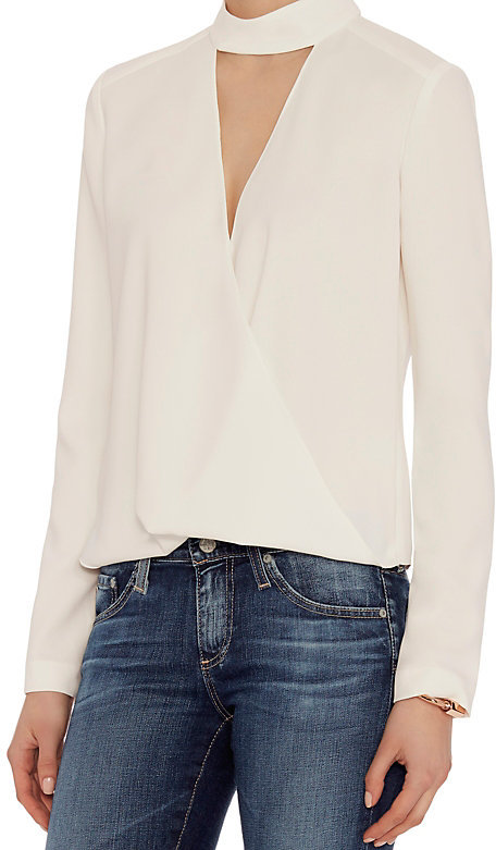 Блузка с чокером Exclusive for Intermix Kai Georgette Top, цена 245$
