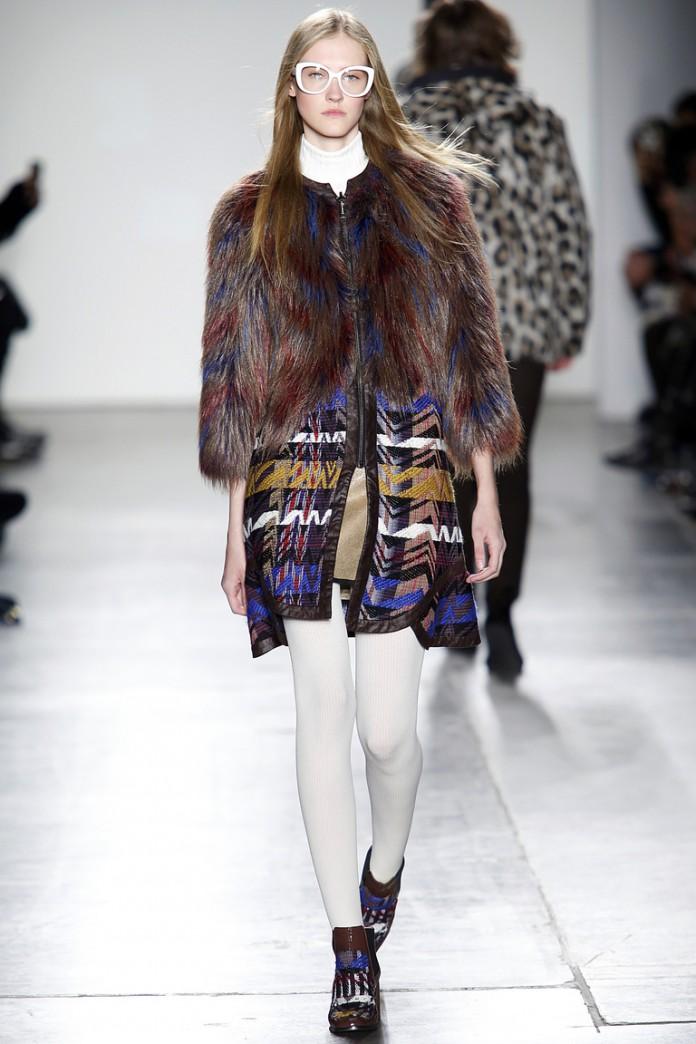 Показ Custo Barcelona осень-зима 2016-2017 на Неделе моды в Нью-Йорке
