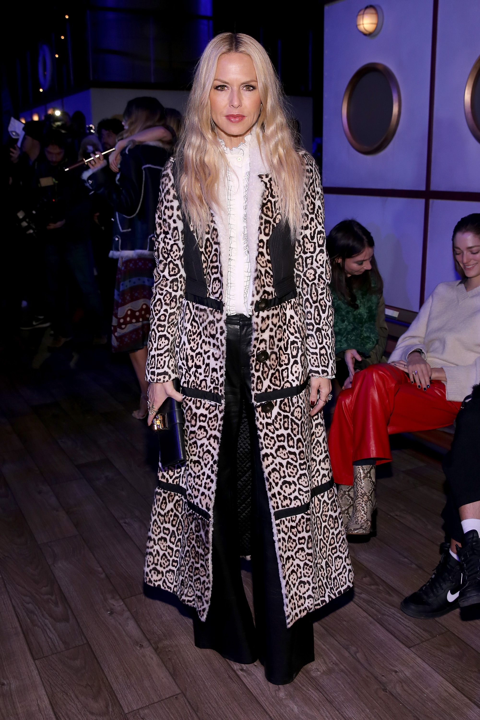 NEW YORK, NY - FEBRUARY 15: Designer Rachel Zoe attends the Tommy Hilfiger Women's Fall 2016 show during New York Fashion Week: The Shows at Park Avenue Armory on February 15, 2016 in New York City. (Photo by Neilson Barnard/Getty Images for Tommy Hilfiger)