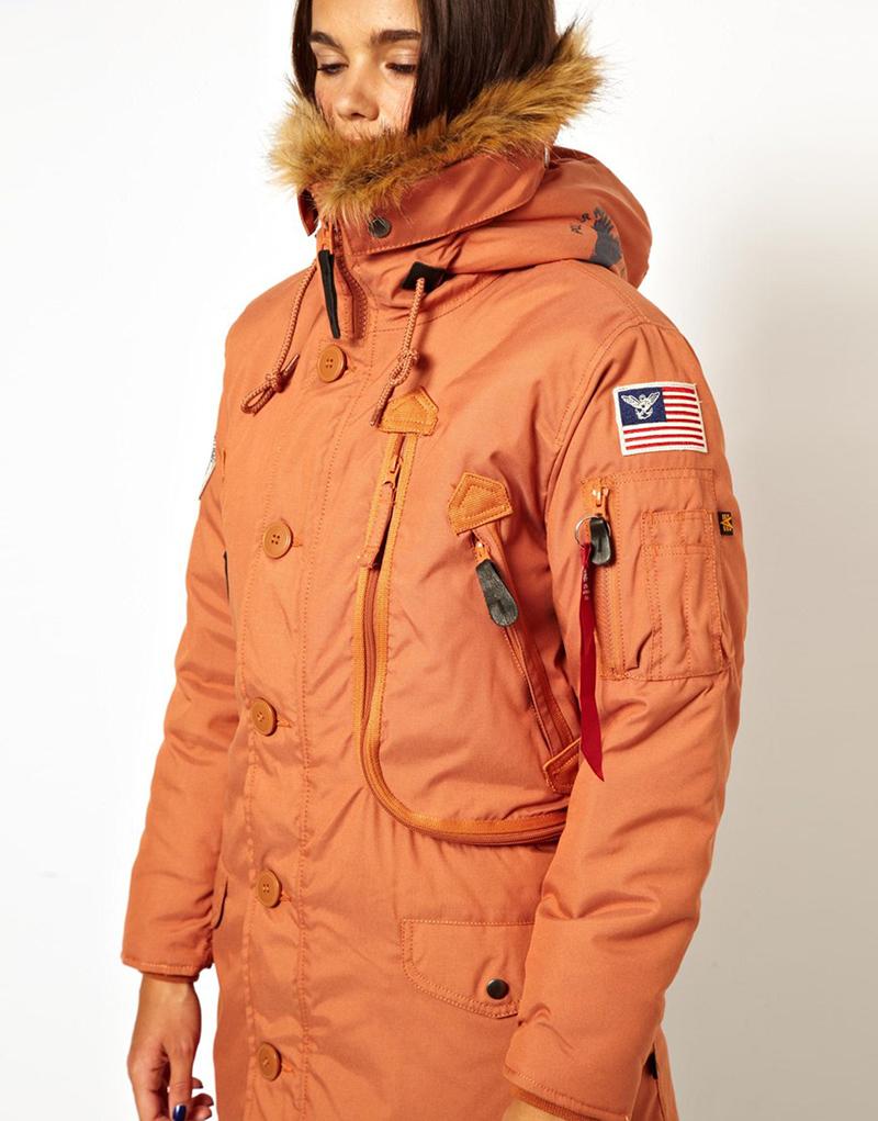 8218f8c7 Модная женская зимняя куртка аляска – фото новинки сезона