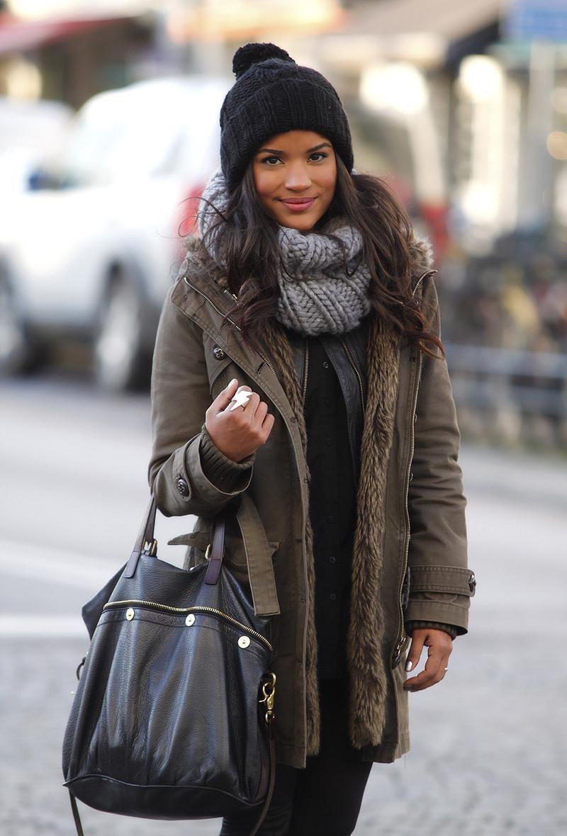 эскизов шаблонов зимняя куртка с шарфом фото мнению