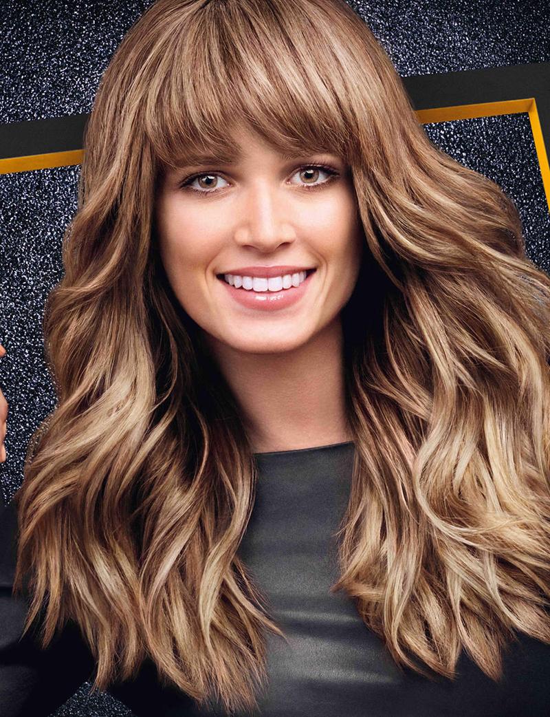 Красивый цвет волос для брюнеток фото