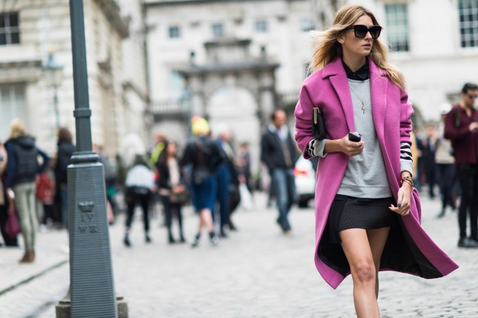 Пальто оверсайз - мода на свободу. Составляем женственные образы.