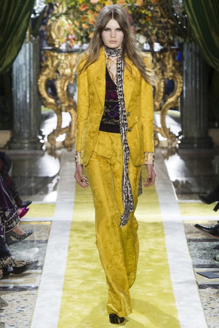 Глэм-рок на неделе моды в Милане от Roberto Cavalli