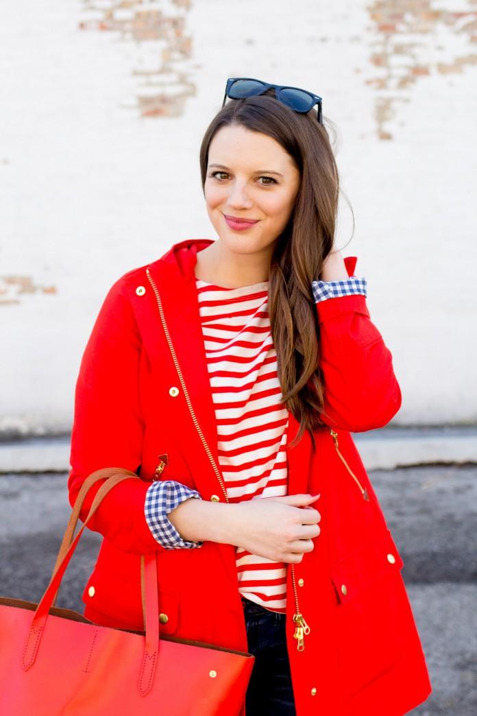 Красная одежда лечит депрессию. Новый стильный образ.