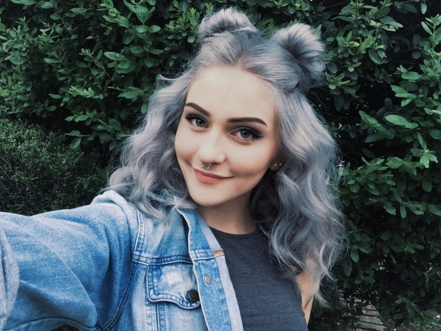 Прически с ушками из волос