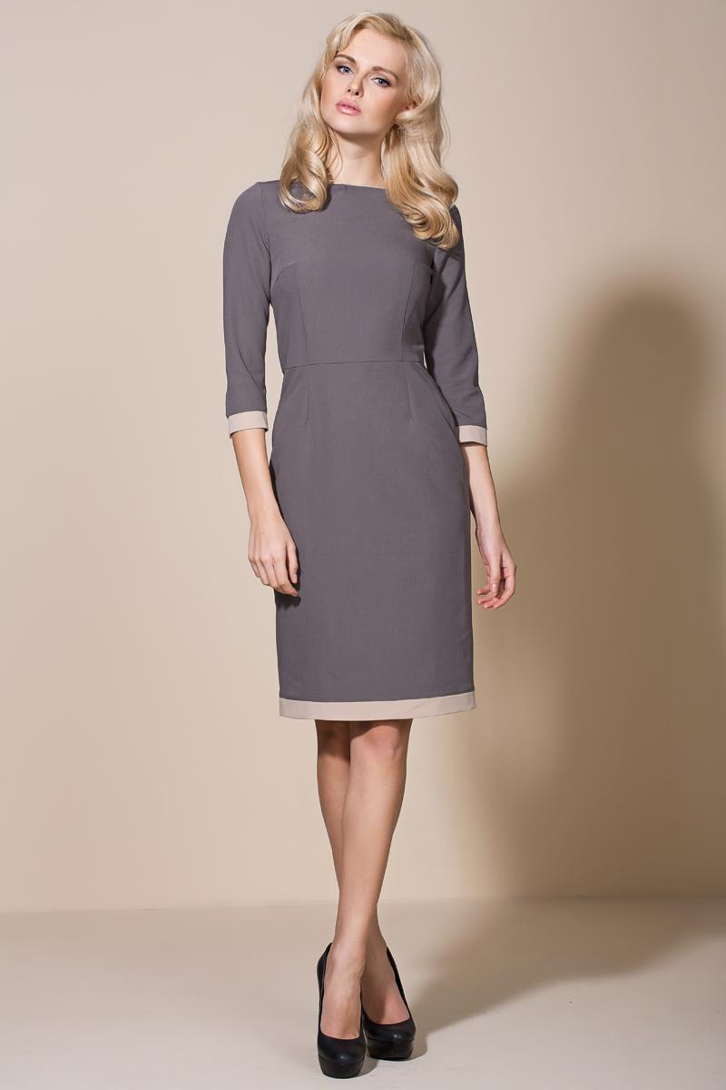 Нежное платье футляр - популярный фасон платья 2020