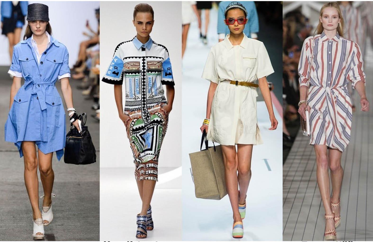 Фасон платья рубашка, красивые модели платьев в 2020 году
