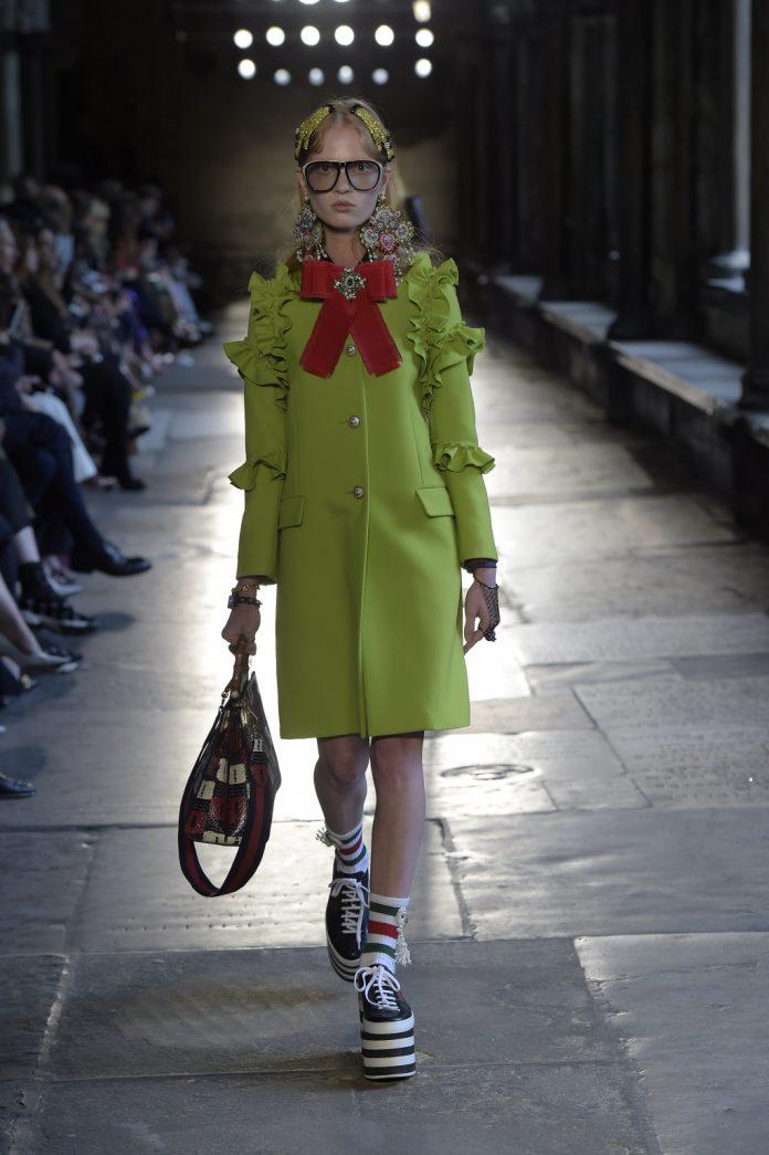 Воланы – модные тенденции этого сезона