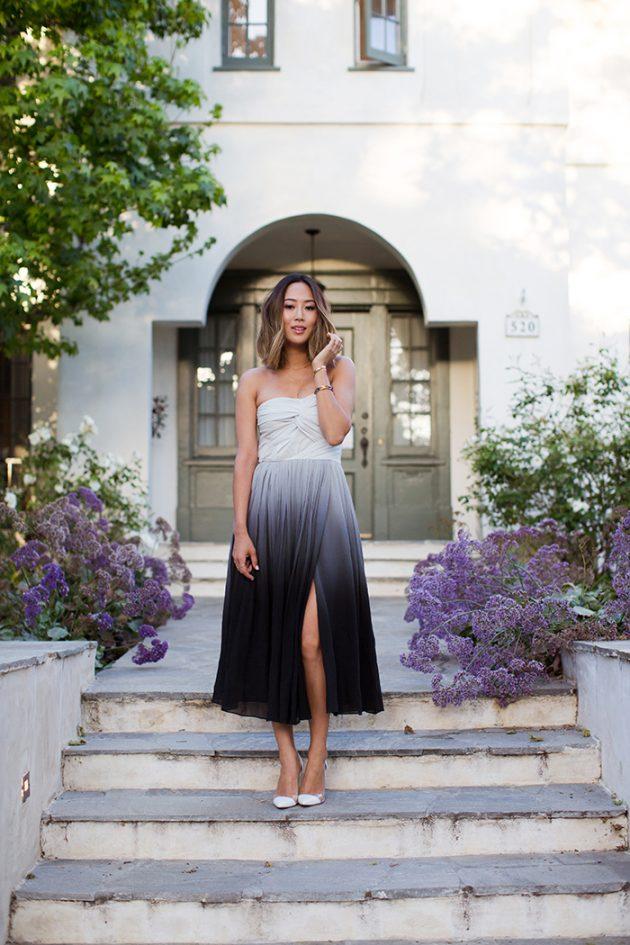 Юбки и платья с разрезами – новый тренд сезона