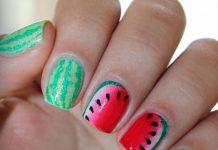 Летний маникюр: идеи сочного дизайна ногтей с фруктами