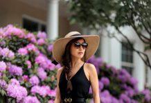 19 новых летних луков со шляпкой